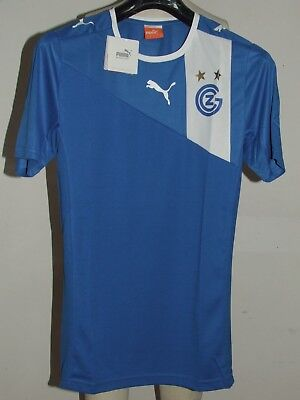 SOCCER JERSEY TRIKOT CAMISETA MAILLOT GRASSHOPPERS NEW TAG size M