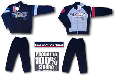 Campagnolo. Suit Winter for Child, Dynamic, 8Q12642. Sweatshirt Zip + Trousers