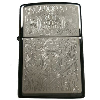 Zippo Lighter-Engraved-28469 Oriental Abstract Design-Personalised Lighter