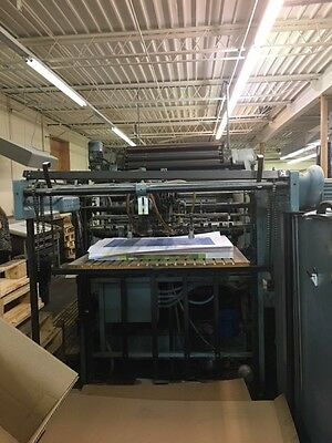 Miehle 2 Color Offset Printing Press 40 Series 325