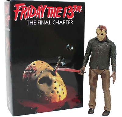 "Friday the 13th Part III 3D JASON VOORHEES 7"" Scale Ultimate Action Figure Model"