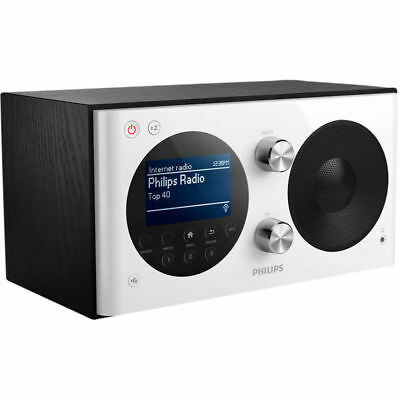 Philips AE8000 - DAB+ Radio - Wit/Zwart