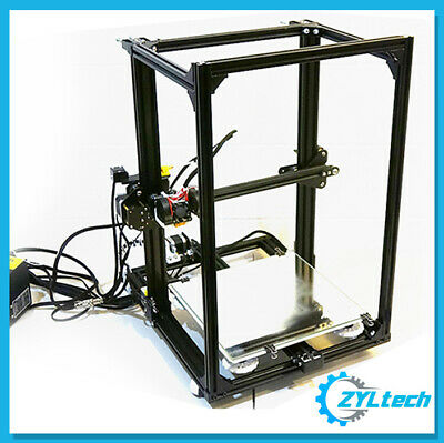CR-10 Style 3D Printer Z Reinforcement Kit - ZYLtech 2020 Extrusion and Hardware