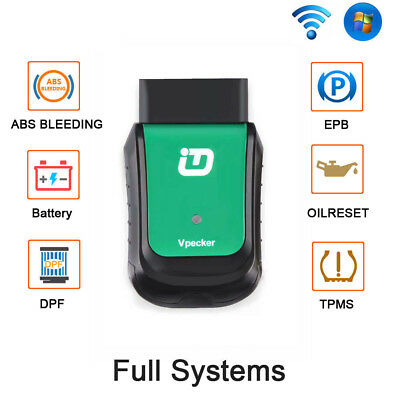 VPECKER Easydiag WIFI Full Systems ABS EPB OBD2 Code Reader Diagnostic Tool US