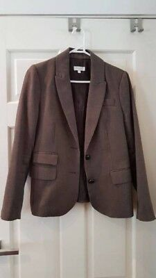 purple/brown women's blazer