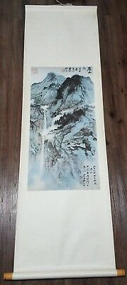 Vintage Chinese Wall Scroll Art