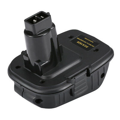 New DCA1820 Battery Adapter for Dewalt 18V Tools, to Convert Dewalt 20V Battery
