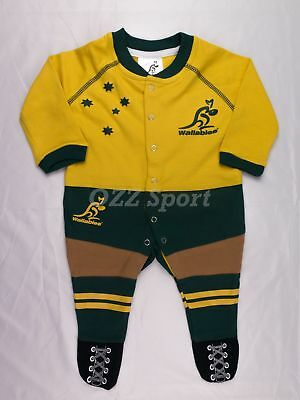 Wallabies Baby and Infant Jumpsuit Onesi by Footysuit