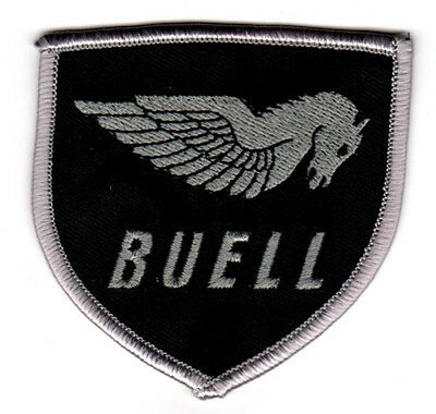 BUELL RACING EMBROIDERED IRON ON PATCH sport bike racing jacket suit leathers