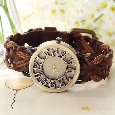 Fashion Hollow Out Watch Casual Women Bracelet  Retro Vintage Wrist Watches New