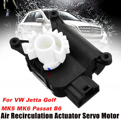 Air Heater Vent Recirculation Flap Motor New For VW Jetta Golf MK5 MK6 Passat B6