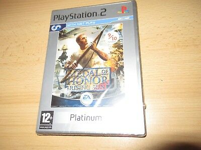 Medal of Honor Rising Sun Sony PlayStation 2 PS2 Game - pal NEW & SEALED
