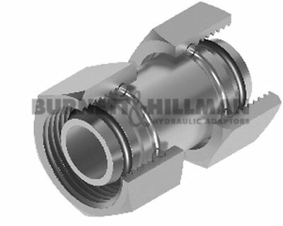 METRIC Female x metric female DKO (L Series) Hydraulic Compression Fitting