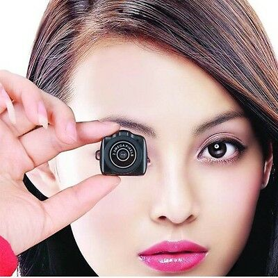 Hot Small Mini Spy Camera Camcorder Pinhole DVR Hidden Digital Video Recorder US