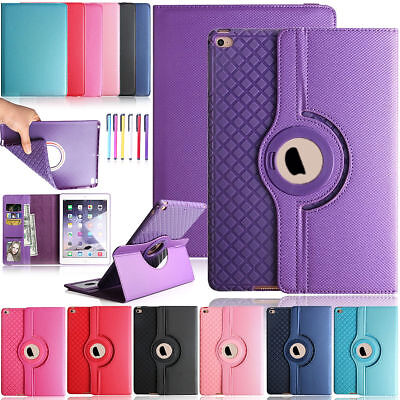 For iPad Pro 10.5 Shockproof 360 Rotating Smart Leather Wallet Stand Case Cover