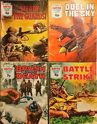 Battle Picture Library Comics lot of 4