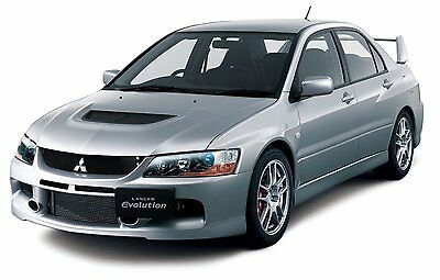 Fujimi ID-107 1/24 Mitsubishi LANCER EVOLUTION IX GSR from Japan Rare