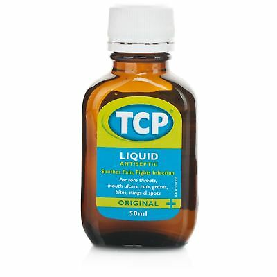 TCP liquide Antiseptique 50 ml 1 2 3 6 12 Packs