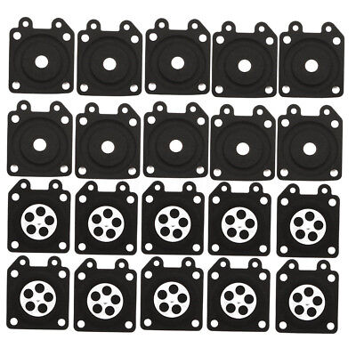 20pcs Chainsaw Diaphragm Chainsaw Parts For Walbro 95-526 95-526-9-8 95-526-9
