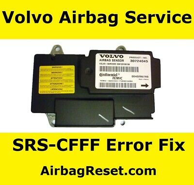 Volvo C70  Airbag ECU Repair Service For Internal Error SRS-CFFF | 31295796