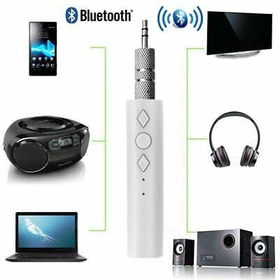 3.5mm Wireless Bluetooth Car Kit Handsfree Music Audio Receiver  Adapter AUX FK