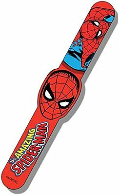Original Marvel Super Hero Spiderman Snap Band Bracelet / Party Toy Free Postage