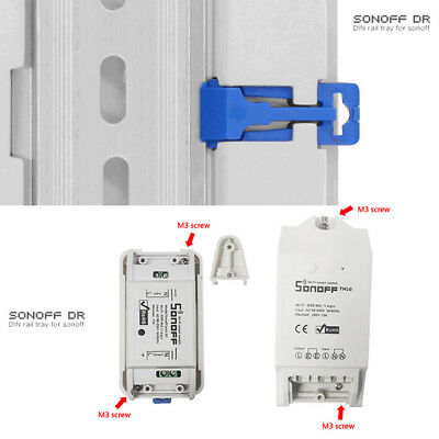 Sonoff DR DIN Mounted WIFI Smart Switch Industrial ABS shell din-rail Box Case