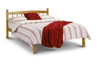 New Stunning Julian Bowen Pickwick 4'6ft  Double Solid Pine Bed
