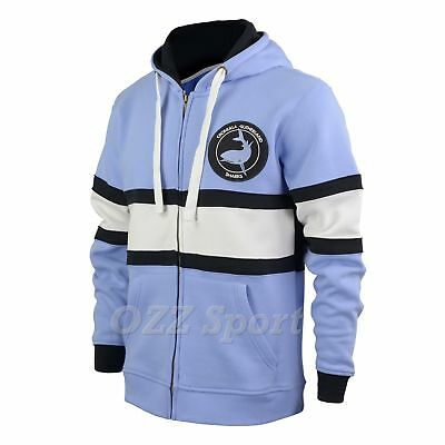 Cronulla Sharks Rugby League Heritage Hoodie - Hooded Jacket
