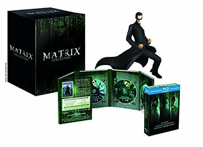 [Blu-ray] Matrix Collection - Coffret Collector Edition Limitée 15 ans M - NEUF