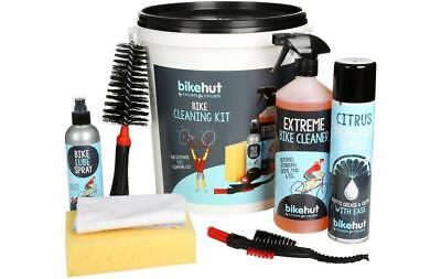 Bikehut Cycling Cleaning Kit Cleaner Degreaser Spray LubeFor Bike Bicycle
