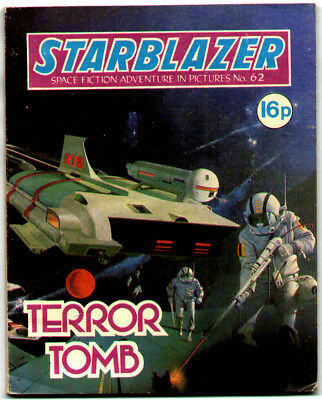 Starblazer 62 (1981) very high grade copy - Carlos Pino artwork