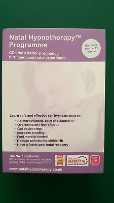 Natal Hypnotherapy Programme Maggie Howell 4CD's hospital birth centre version