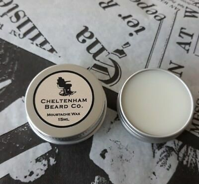 Strong Moustache Wax 15ml - Cheltenham Beard Co.