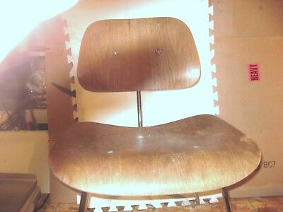 "Vintage/herman Miller/charles Eames/plywood Chair/""dcm/will Sell All Or Parts"