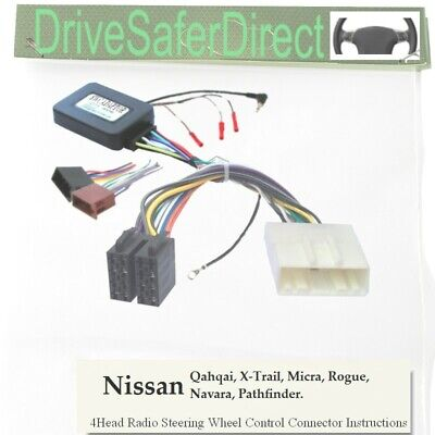 SWC-5233-02J Stalk Adaptor, ISO-JOIN for Android Radio/Nissan X-Trail T31 09-14