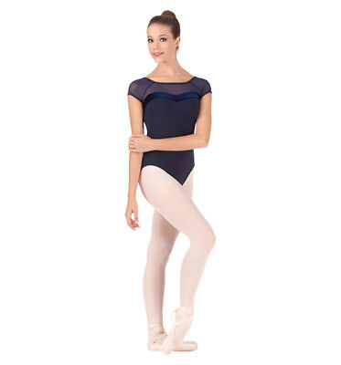 Nwt Bal Togs Adult Large Navy blue sweetheart dance   Leotard - item #BT5081