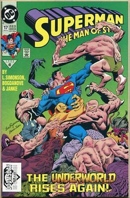 Superman: The Man Of Steel #17 - VF - 1st Print - 1st Cameo Appearance Doomsday