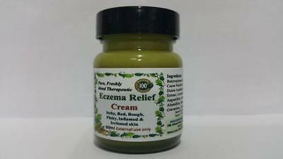 100% pure freshly blended Eczema Relief Cream - All Skin types