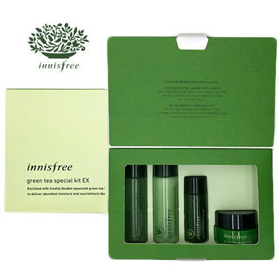[INNISFREE] Green Tree Balancing 4pcs Special Kit Ex TRAVEL SIZE NEW