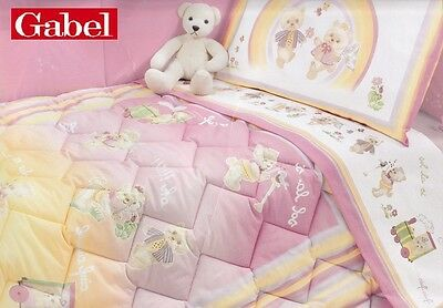Quilt, Duvet Winter 320 Gr+ Bumpers Crib/Cot gabel , Rainbow