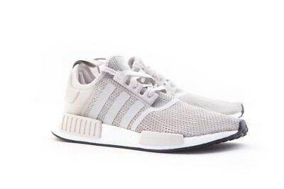 bed4ce64e64d5 BRAND NEW ADIDAS NMD R1 Boost Running Sneakers Sesame Chalk Pearl ...