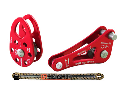 ISC SINGING TREE ROPE WRENCH W/ TETHER and ISC Rope Wrench Pulley