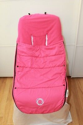 Bugaboo UNIVERSAL pink footmuff, thinner for warmer months, FAST postage