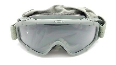 bc47dfe320c NEW Oakley Si Ballistic Goggle Array Grey Clear Military Matte Grey ANSI Z87