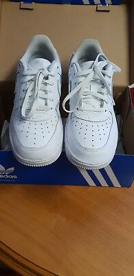 Nike air force ones junior size 2 brand new condition only worn once