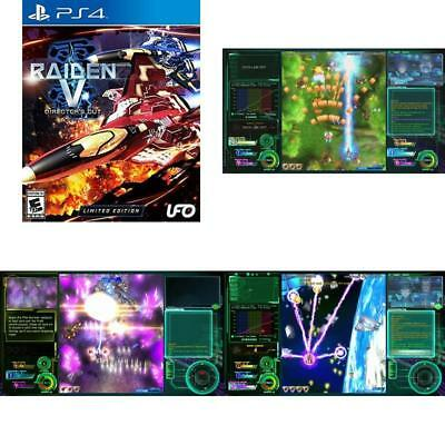 Raiden V Director'S Cut Limited Edition W/ Original Soundtrack Cd Playstation