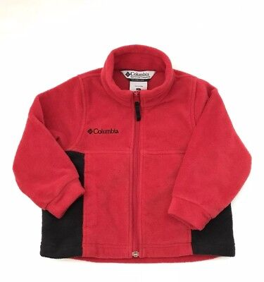 Columbia Toddler 3T Unisex Fleece Zip Up Jacket