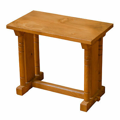 R. W. Phillips Arts & Crafts Cotswold School Small Elm Occasional Table c. 1930