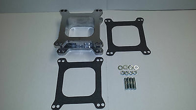 Carburetor Aluminum 2 Inch Open Spacer Edelbrock Holley Demon Ford Chevy Hot Rod